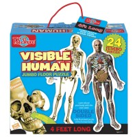 Human Body 24 pc Double Sided Jumbo Floor Puzzle