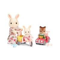 Calico Critters Apple & Jake's Ride n Play
