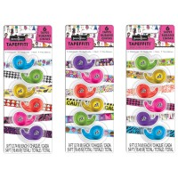 Tapeffiti Decorative Craft Tape - 6 pc Set