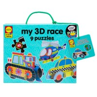 My 3D Race 9 Vehicle Puzzles Set