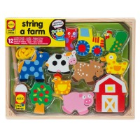 String a Farm Lacing Activity Toy