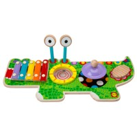 Musical Gator Wooden Music Center for Toddlers