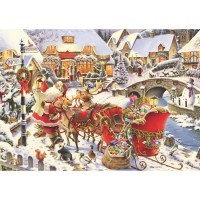 Christmas 1000 pc Puzzle - Santa Needs Directions