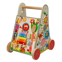 Jungle Fun Multi Activity Cart Push Toy