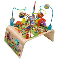 Busy Bead Maze Toddler Activity Center - Race Around