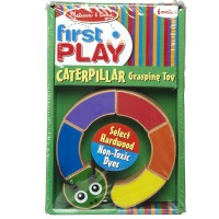 Caterpillar Baby Grasping Toy