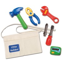 Little Builder Tool Belt with Toy Tools