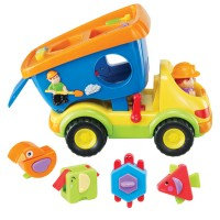 Super Shapes Dump Truck Shape Sorter