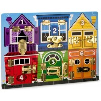 Latches Board Manipulative Learning Toy