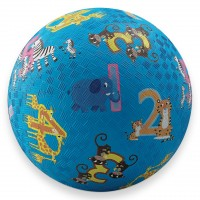 Jungle 123 Numbers 7 inch Play Ball for Kids