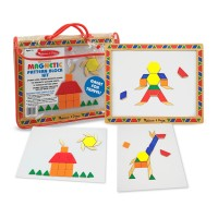 Magnetic Pattern Block Kit Geometric Magnets