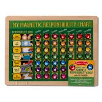 Magnetic Responsibility Chart Wooden Toy