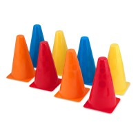 Activity Cones - Set of 8 Colorful Cones