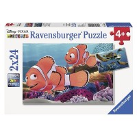 Nemo's Adventure 2 Disney Pixar Finding Nemo 24 pc Puzzles Set