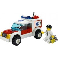 Lego City 7902 Doctors Car