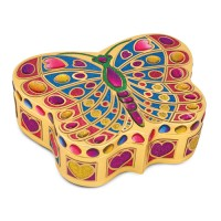 Butterfly Jewelry Box Stickers by Numbers Craft