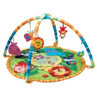 Active Baby Playmat Infant Gym - Jungle Buddies - Small World Toys