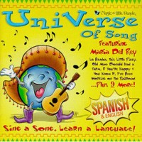 UniVerse of Song Learn Spanish Sing Along Children CD