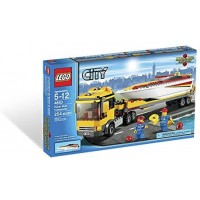 Lego City Power Boat Transporter
