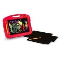 Scratch Art Portable Light Box Doodle