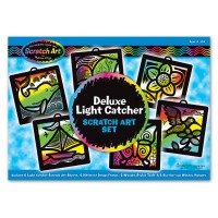 Deluxe Light Catcher Scratch Art Set