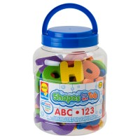 ABC & 123 Foam Shapes for the Tub 62 pc Bath Set