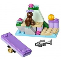 Lego Friends Seal On A Rock