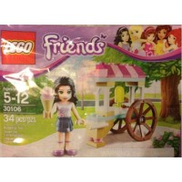 Lego Friends Polybag 30106 Emma With Ice Cream Cart
