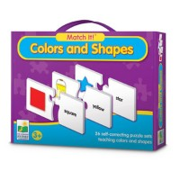 Colors & Shapes Match It Learning Puzzle