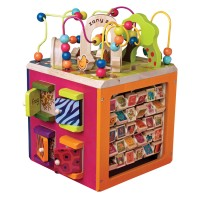 Zany Zoo Toddler Deluxe Activity Cube