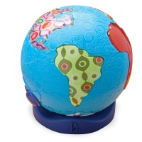 World Music Toddler Electronic Toy Globe