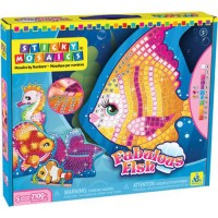 Sticky Mosaics Fabulous Fish Craft Kit