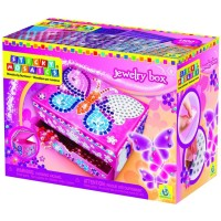 Jewelry Box Sticky Mosaics Craft Kit
