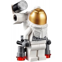 Lego City Minifigure Space Port Astronaut With Jetpack And Flashlight