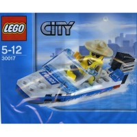 Lego City Mini Figure Set 30017 Police Boat