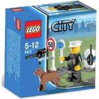 Lego City Set 5612 Exclusive Mini Figure Police
