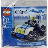Lego City Mini Figure Set 30013 Police City Quad