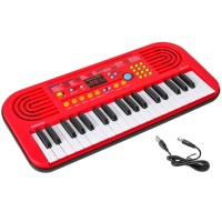 Super Star Deluxe Toy Keyboard - Red
