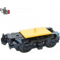 Lego Custom City Train Bogie Buffer With Wheels For Carriages And