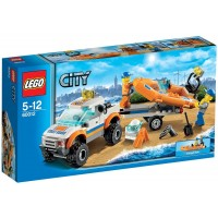 Lego City 60012 4X4 And Diving Boat Discontinued By