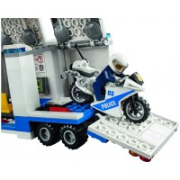 Lego City Police Mobile Command Center Truck 60139 Building Toy Action Cop Motorbike And Atv Play
