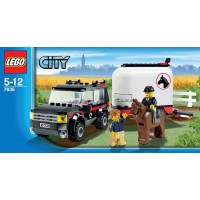Lego City 7635 4Wd With Horse