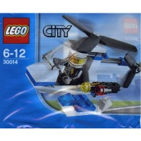 Lego City Police Helicopter Bagged