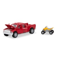 Driven Pick-Up Truck Micro Series Lights & Sounds 2 Vehicles Set