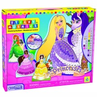 Princess Sticky Mosaics Girls Craft Kit