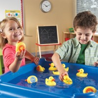 Number Fun Ducks 10 pc Water Activity Set