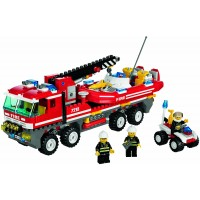 Lego City Set 7213 Offroad Fire Truck