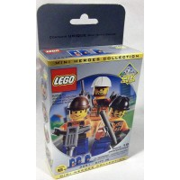 Lego City Mini Figure 3Pack Set 3351 Mini Heroes