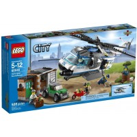 Lego City Police Helicopter Surveillance Building Set