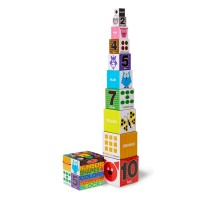 Numbers, Shapes & Colors Nesting & Stacking Blocks Set